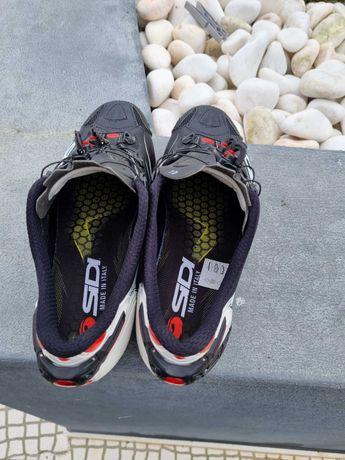 Sapato sidi carbon mtb impecavel , só  usados para spinning