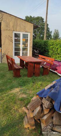 Stół i dwie ławki 850 zł