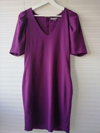 Sukienka h&m 40 fiolet