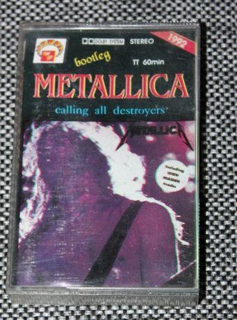 Kaseta magnetofonowa Metallica - Calling All Destroyers
