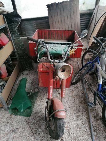 Triciclo Zundap 4 Clássico Restaurar