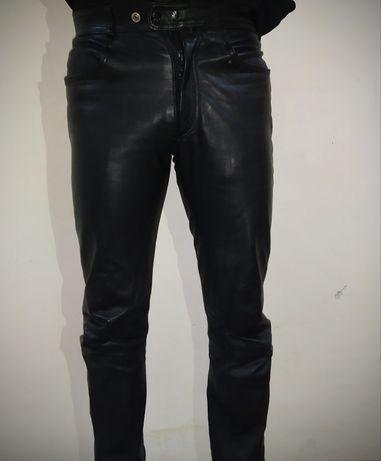 Шкіряні мото штани moto
