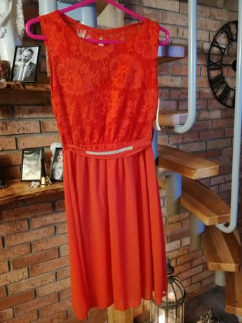 Sukienka nowa koronkowa r L, 40