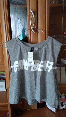 Krótka koszulka/ bluzka, rozmiar S