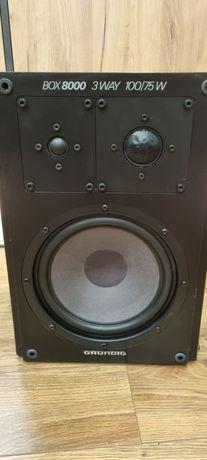 Grundig box 8000 kolumny 3-drożne, zamknięte, 75W/100W