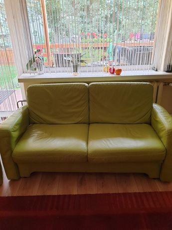 Spredam sofę skórzaną z fotelami