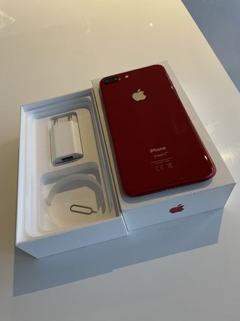 iPhone 8 plus 64GB red edition
