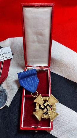 Faithfull 40 Years Lealdade Serviços ORIGINAL nazi Alemanha suástica