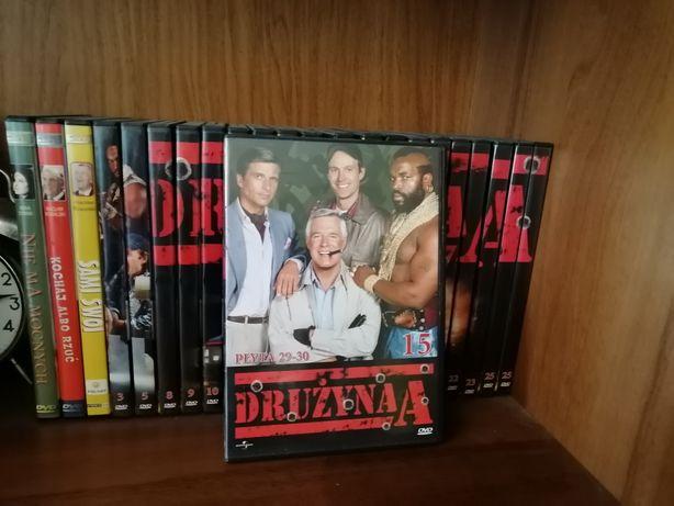 Kolekcja płyt DVD Drużyna A+gratis