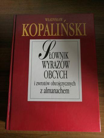 Słownik wyrazów obcych i zwrotówobcojęzycznych z almanachem Kopaliński