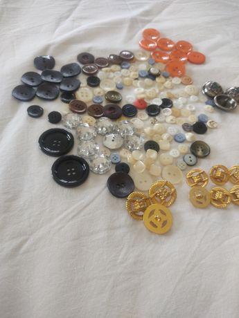Conjunto de botoes