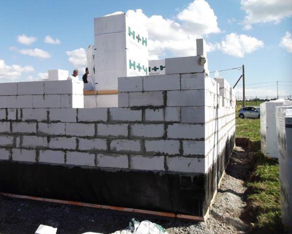 Строительство домов, гаража из газоблока,установка забора,кладка газоб