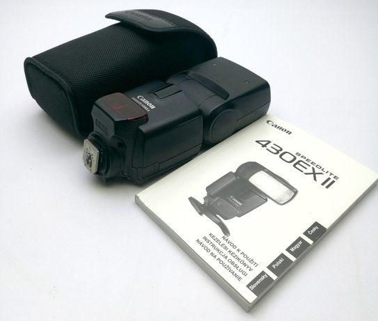 Lampa błyskowa Canon Speedlite 430EX II jak nowa