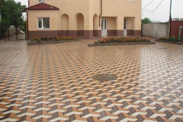 Тротуарная Плитка  -Укладка тротуарной плитки 100 гр +договорная цена