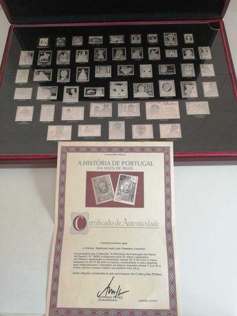 Selos de Prata - Coleção Philae