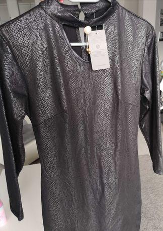 Super sexy sukienka wężowy wzór  rozmiar S