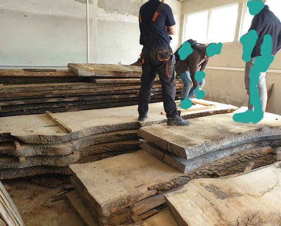 Monolit blat drewniany drzewo dąb orzech włoski jesion stół kuchnia