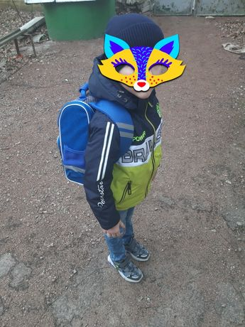 Куртка grace на мальчика 122 6,7,8 лет демисезон