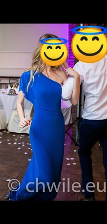 Sukienka długa Ralph Lauren