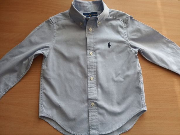 Детская рубашка POLO RALPH LAUREN на 2-3 года.
