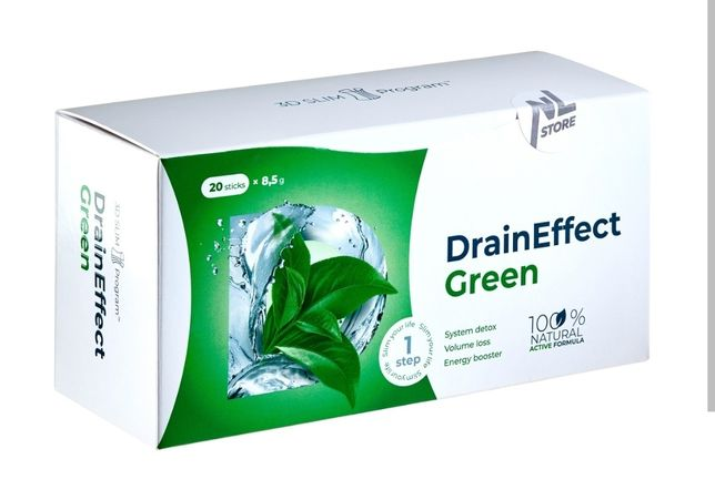 Drain Effect Green or Red