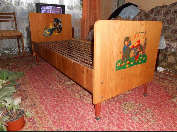Детская кровать 140 на 70
