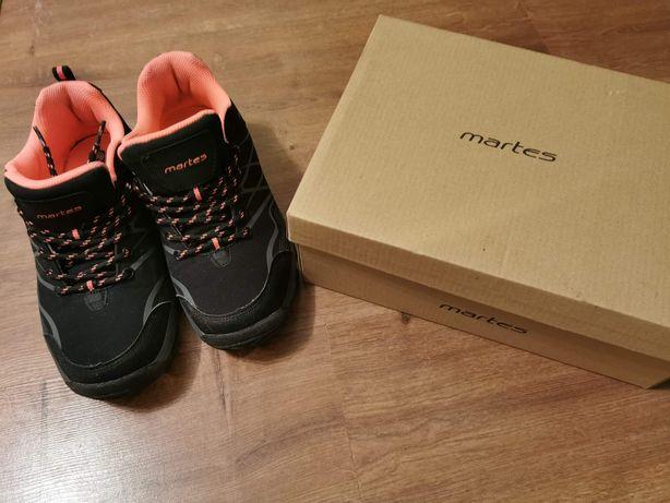 Buty martes czarno różowe