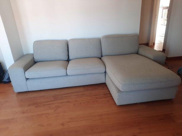 Sofá kivik Ikea 3 lugares + Chaise longue