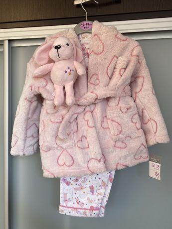 Халат, байковая пижама, игрушка Primark