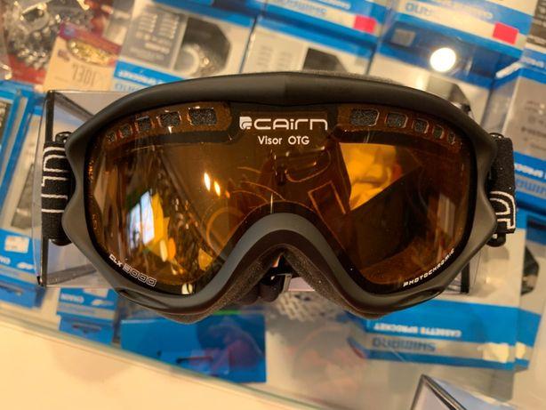 Gogle narciarskie CAIRN Photochromic CAT S.3 + dla noszących okulary