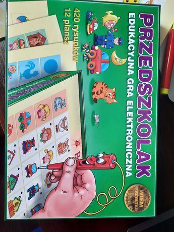 Przedszkolak edukacyjna gra elektroniczna