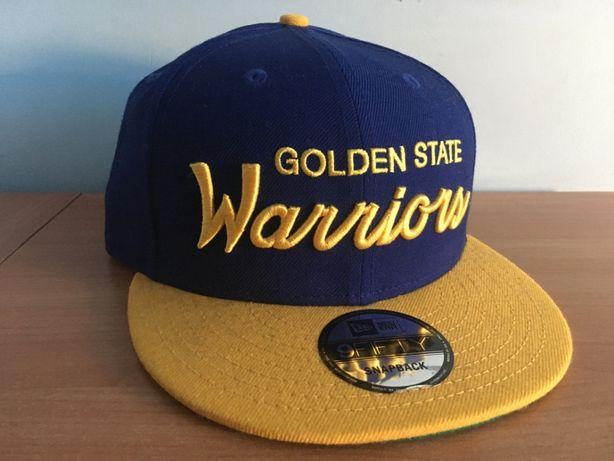 Golden State Warriors - Czapka - Snapback - Nowa - New Era - 9FIFTY