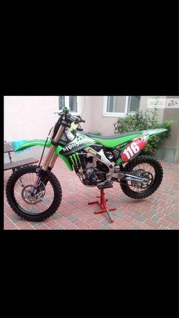 Продам мото кросс Kawasaki Kx250f