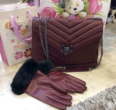 Кожаная сумка Сумка из натуральной кожи Италия Шкіряна сумка.