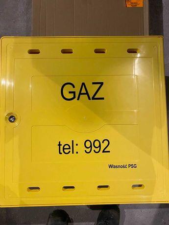 szafy gazowe z wolnostąjące z monozłączem na licznik