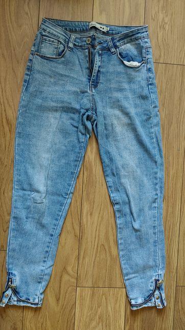 Spodnie dżinsy przed kostkę