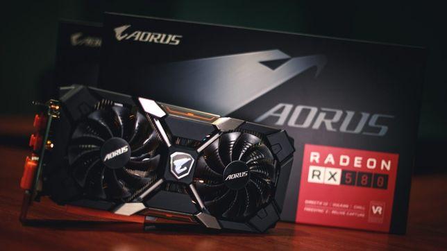 RX 580 aorus xtr 8gb 256 bit