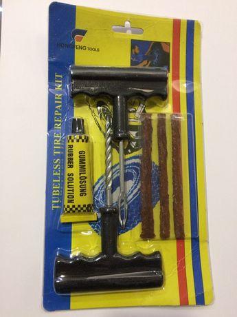 Kit de reparação de pneus tubeless Tacos carro motas