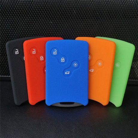 Capas em silicone para cartão (chave) Renault,Megane 3 ,SCÉNIC,Fluence