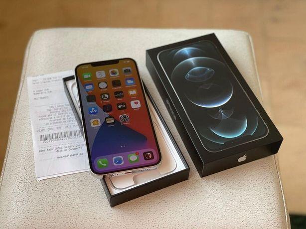 Vendo Troco iPhone 12 Pro Max 256Gb Silver C/Fatura e Garantia