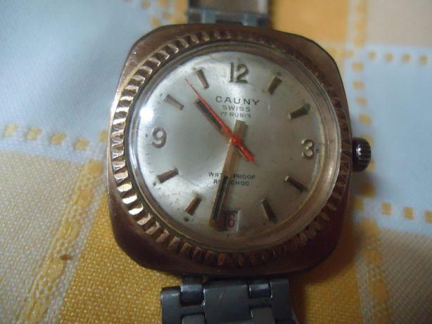 relógio cauny 17 rubis