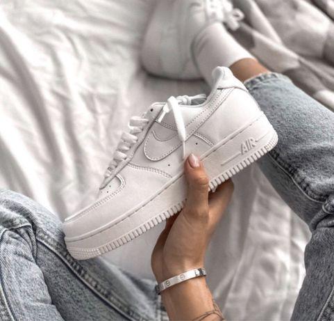 Женские Кроссовки Nike Air Force 1 Белые 36-45 / Найк Аир Форс 1 White