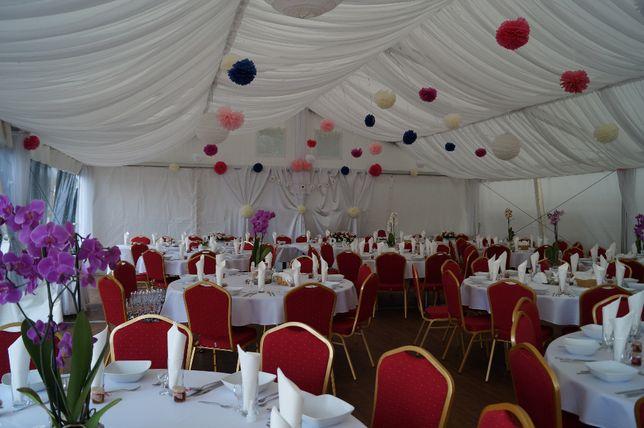Namioty weselne hale namiotowe na imprezy plenerowe wesele w plenerze
