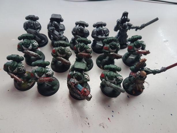 15x Space Marines SM Dark Angels Warhammer 40k