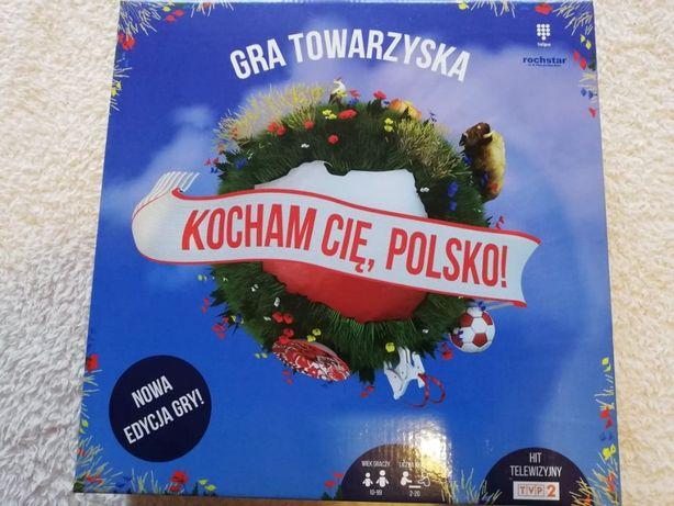 Rewelacyjna gra towarzyska Kocham cię Polsko NOWA
