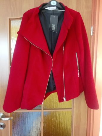 Płaszcz krótki kurtka 38 nowy
