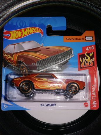 """Hotwheels """"67 camaro"""