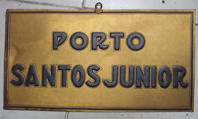 Placa Santos Junior - Porto (Vinho do Porto)