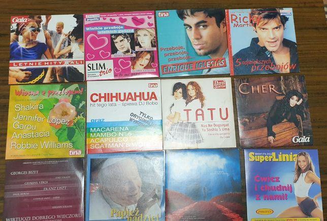 Muzyka zagraniczna - 12 płyt CD