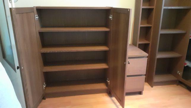IKEA komplet Billy/Oxberg/Malm